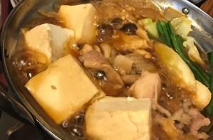 鶏すき鍋 うまうま