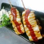 チーズ串カツ